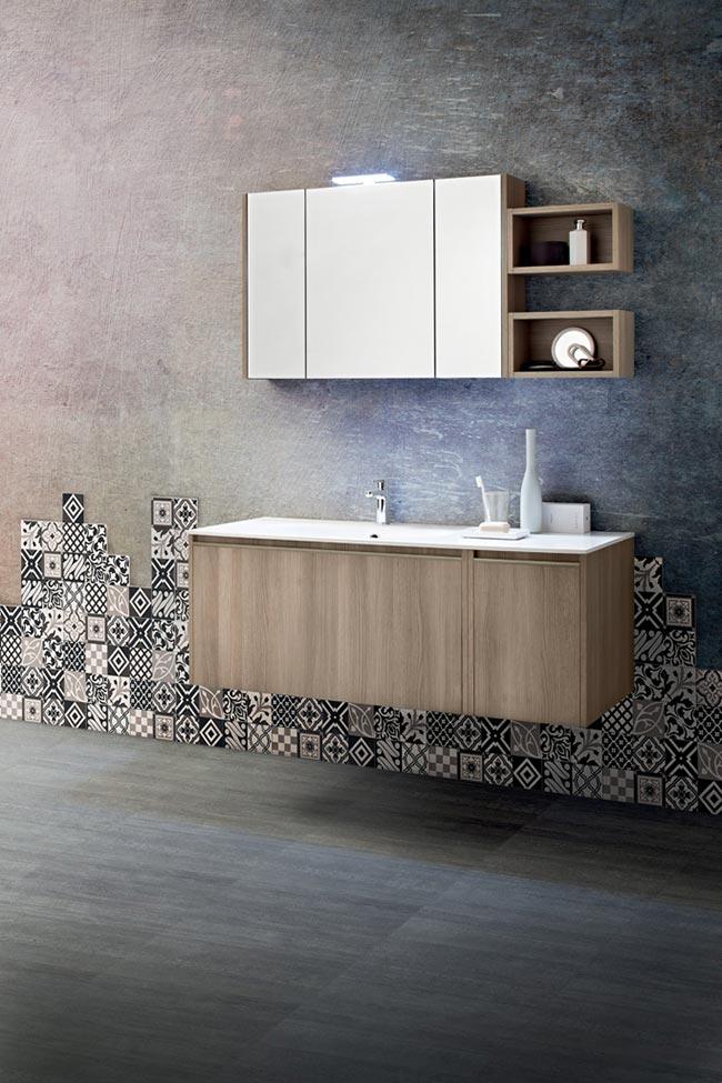 Il bagno moderno di Cerasa - Rifare Casa