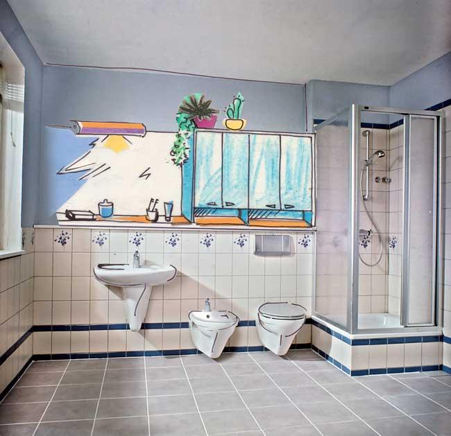 Bagno nuovo senza rompere 1 rifare casa for Rinnovare il bagno senza rompere