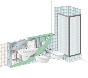 Cambiare sanitari senza rompere piastrelle infissi del bagno in bagno - Rinnovare il bagno senza rompere ...
