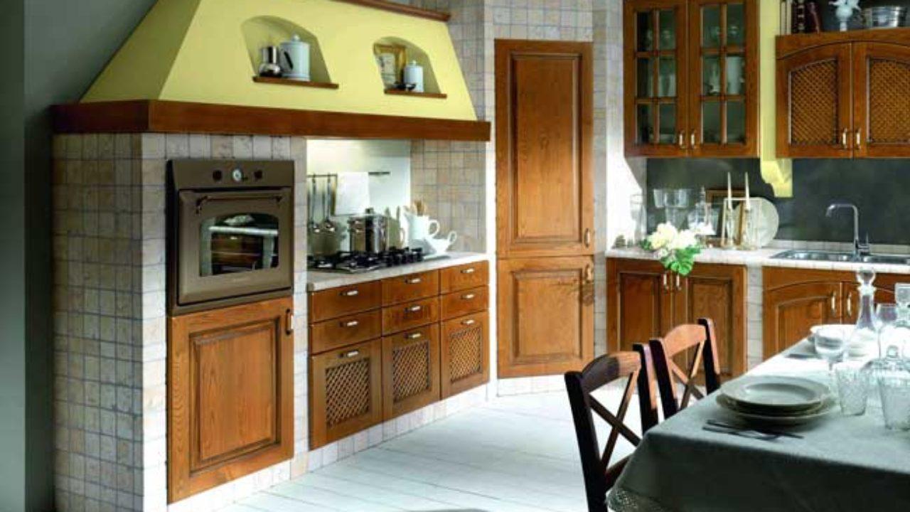 Cucina In Muratura Su Misura Come Costruire Zona Cottura