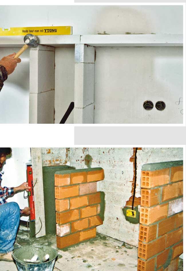Cucina in muratura su misura | Come costruire zona cottura, piani e ...