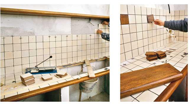 Cucina in muratura 7 rifare casa - Rivestimento cucina in muratura ...