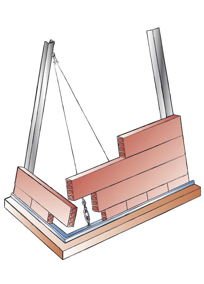Cucina in muratura su misura come costruire zona cottura piani e cappa - Cappe per cucine in muratura ...