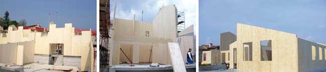 case passive di legno
