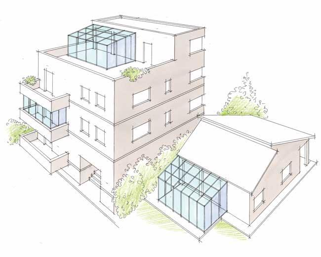 Ampliare casa cheap ampliamento ucpiano casaud con tetto ventilato with casa con tetto in legno - Ampliare casa con struttura in legno ...