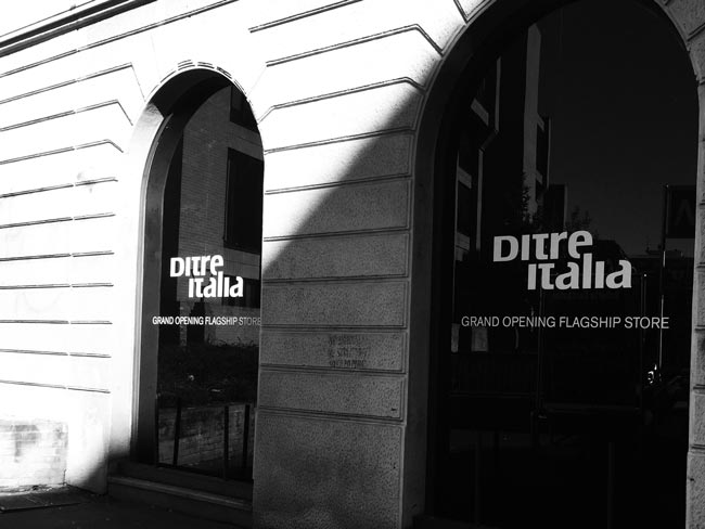 Flagship Store Ditre Italia apre a Milano