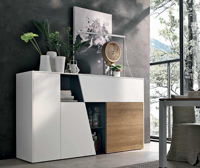 Tomasella mobili vivere la casa in modo funzionale for Mobile basso design