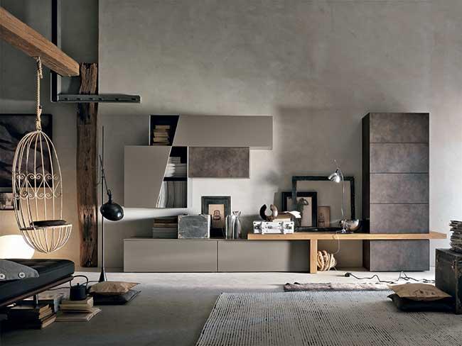 tomasella mobili | vivere la casa in modo funzionale - Soggiorno Moderno Tomasella 2