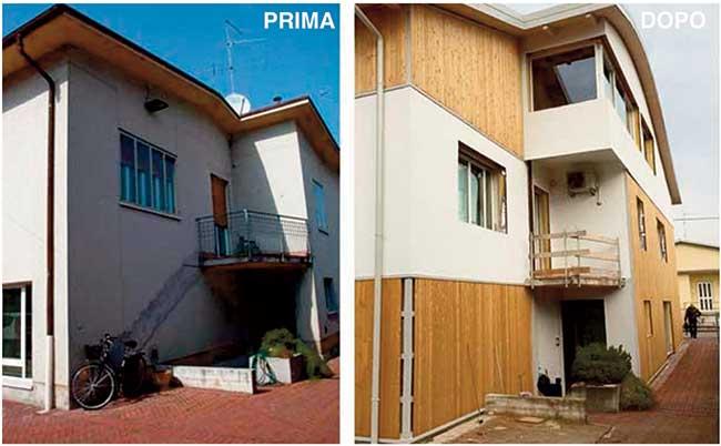 Isolamento dell involucro con nuove facciate ventilate rifare casa