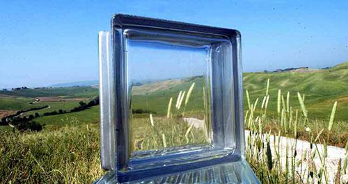 Vetrocemento e mattoncini di vetro forme e prezzi - Finestra vetrocemento ...