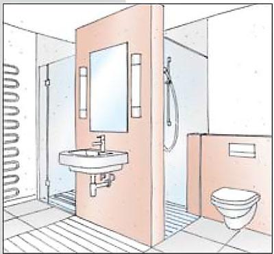 bagno-disegno - Rifare Casa