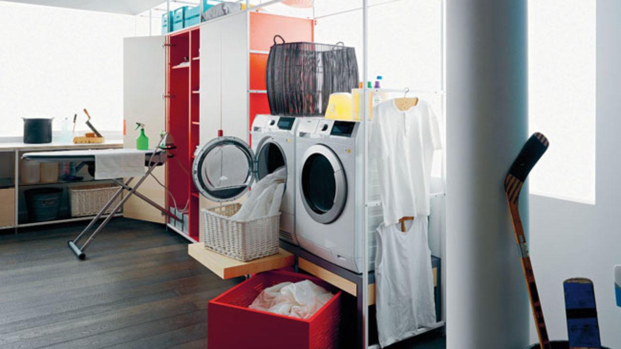 Lavatrice Ed Asciugatrice Sovrapposte la lavanderia si adatta all'abitazione - rifare casa