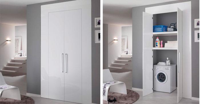 La lavanderia si adatta all 39 abitazione rifare casa - Mobili per lavanderia di casa ...