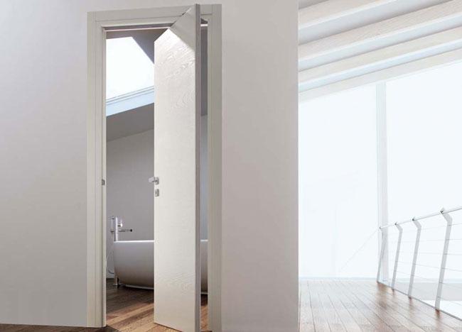 Porta rototraslante come soluzione salvaspazio rifare casa - Porta per soffitta ...