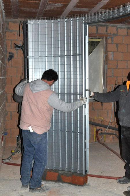 Porta scorrevole curva come installarla rifare casa - Porta scorrevole curva ...