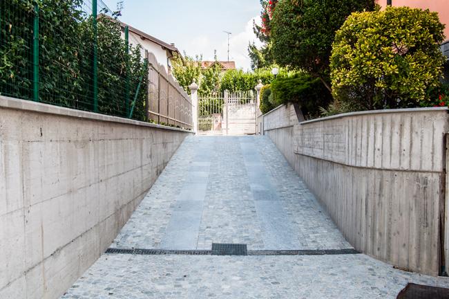 Dossier di edilizia rifare casa for Piastrelle garage