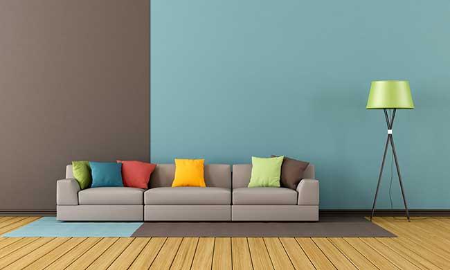 Colore pareti come rinnovare casa scegliendo il giusto for Abbinamento colori arredamento e pareti