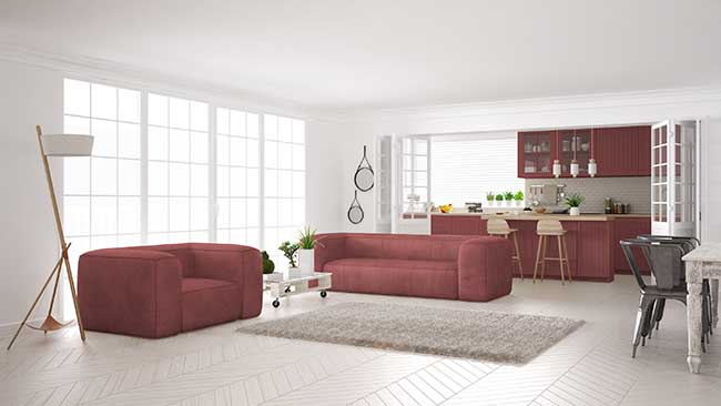 Arredare open space la cucina e il soggiorno - Come disporre la cucina ...