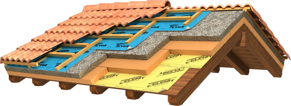 strati coibentazione tetto