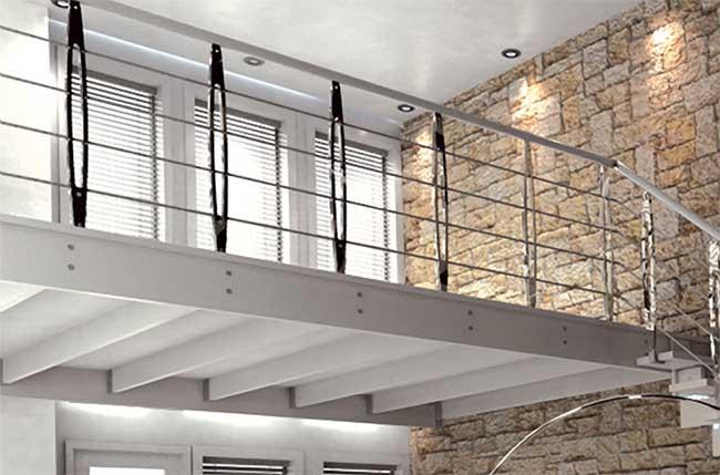 Soppalco come ottenere una stanza in pi in casa for Soppalco d arredo