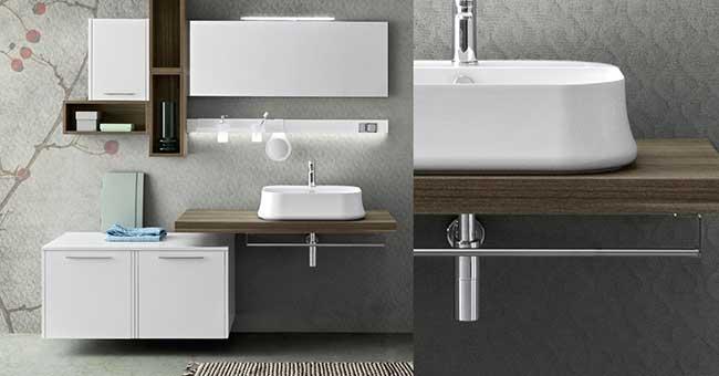 Bagno minimalista  Come realizzarlo con la collezione Velvet di Cerasa