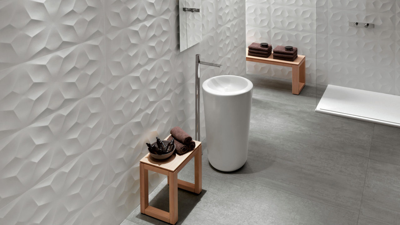 Piastrelle Moderne Per Interni piastrelle bagno in ceramica moderne e alternative - rifare casa