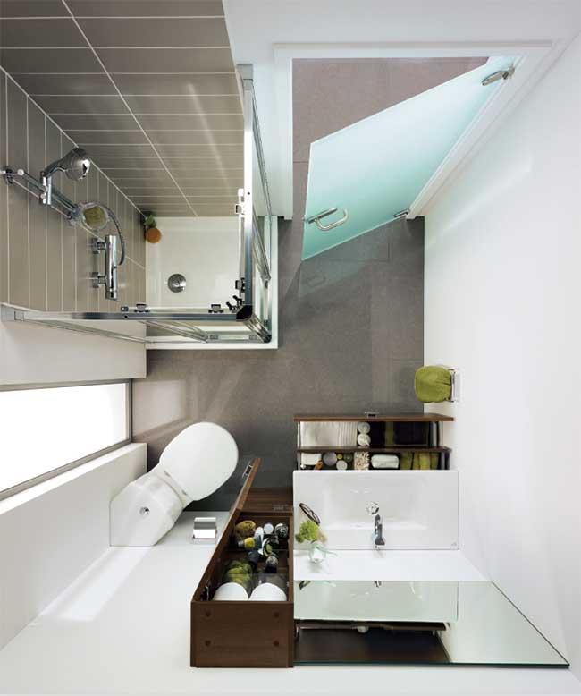 Bagni Moderni In Poco Spazio