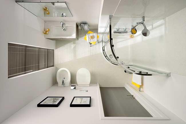 Bagno In Camera Piccolissimo : Dimensioni minime bagno come gestire al meglio lo spazio