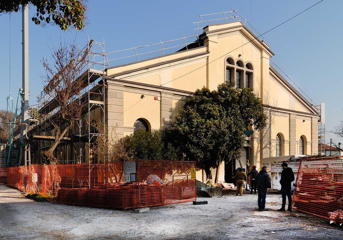 Ristrutturazione della copertura dell'Ex Macello di Padova