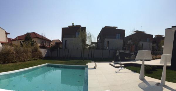 Villa moderna con giardino paghera rifare casa for Architettura moderna della casa
