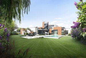 Villa moderna con giardino - Paghera - Rifare Casa