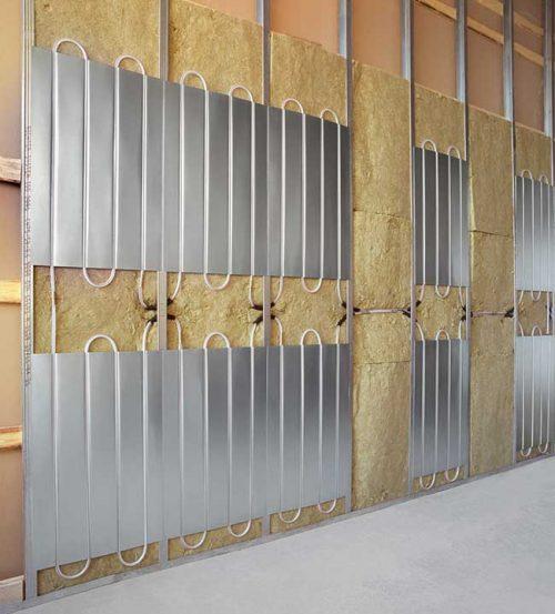 Impianto di riscaldamento tipologie scelta e for Pannelli da parete
