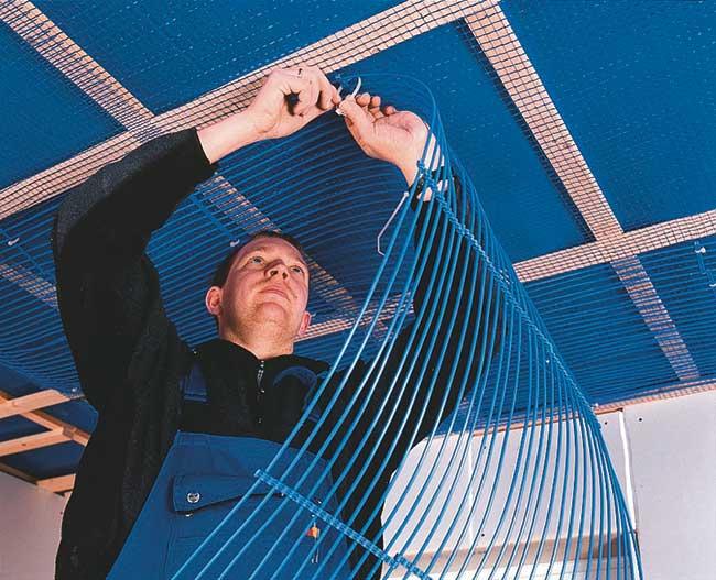 Impianto di riscaldamento soffitto rifare casa