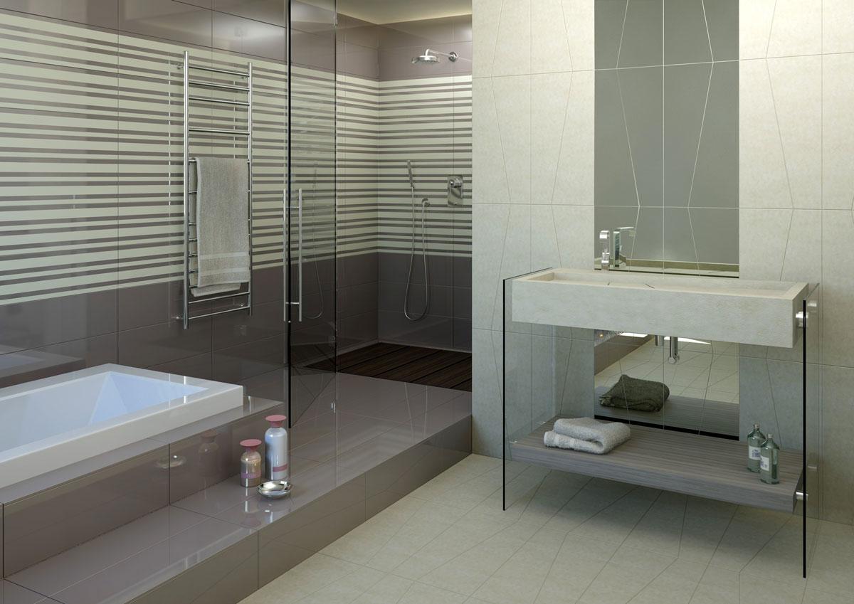 Rivestimenti bagno come sceglierli rifare casa - Aspiratore bagno senza uscita esterna ...
