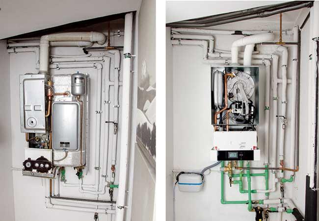 Caldaia a condensazione funzionamento installazione - Caldaia all interno dell appartamento ...