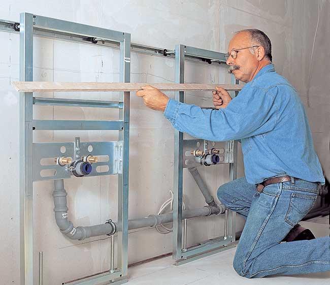 Cartongesso in bagno le migliori soluzioni rifare casa for Migliori tubi per l impianto idraulico
