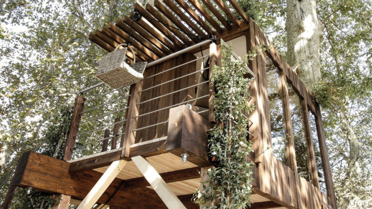 Dimensionamento Pergolato In Legno casa sull'albero | progetto, tipologie e costi - rifare casa