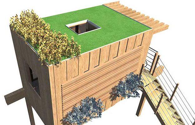 Casa sull 39 albero progetto tipologie e costi rifare casa - Progetto casa sull albero per bambini ...