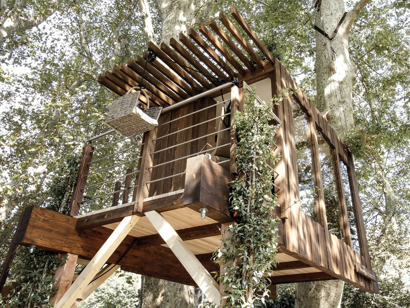 Casa sull 39 albero progetto tipologie e costi rifare casa for Kit per costruire casa sull albero