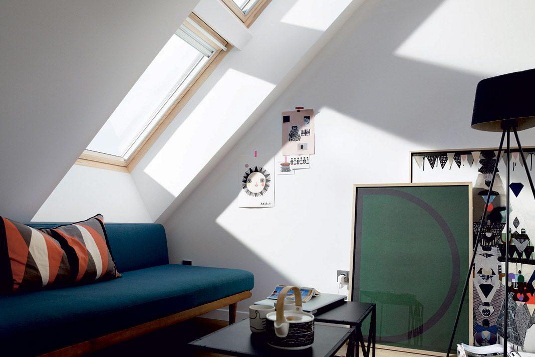 Illuminazione mansarda installazione finestre sottotetto