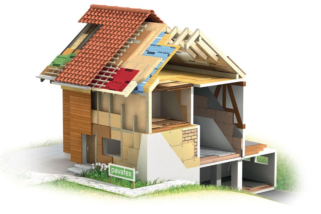 Isolamento termico quanta energia consuma una casa - Isolamento mansarda ...