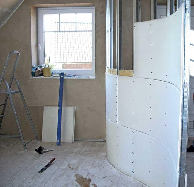 Parete cartongesso perfect pareti cartongesso with parete cartongesso parete cartongesso with - Parete in cartongesso costo ...