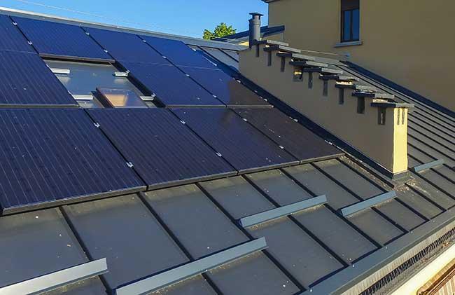 Copertura metallica per tetti a bassa pendenza Alubel - Rifare Casa