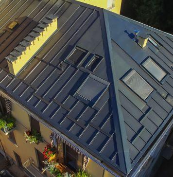 copertura metallica per tetti