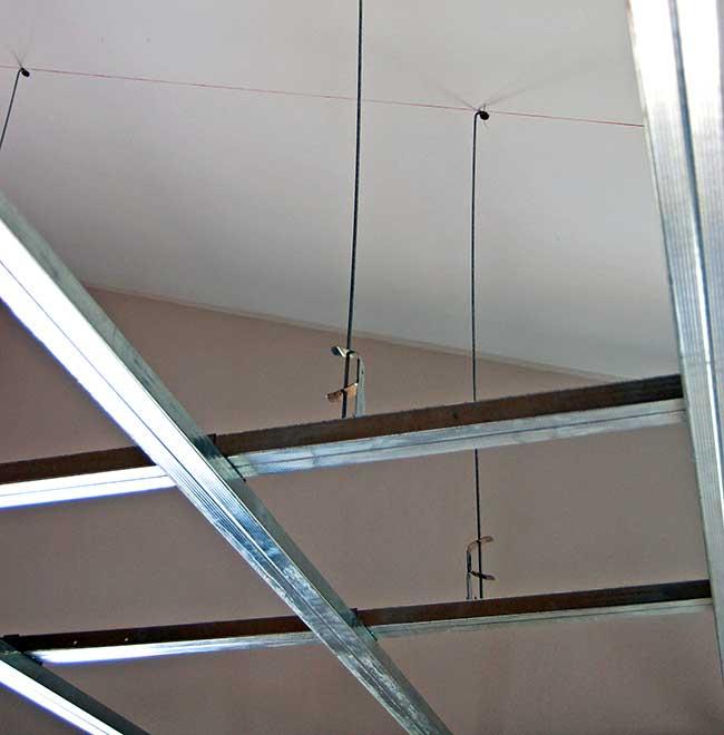 Controsoffitto di cartongesso per ribassare il soffitto - Controsoffitto portante ...