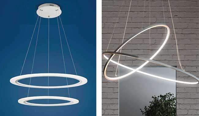 Lampadari moderni: una grande scelta - Rifare Casa
