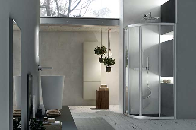 Chiusure doccia arcom la nuova linea aks rifare casa