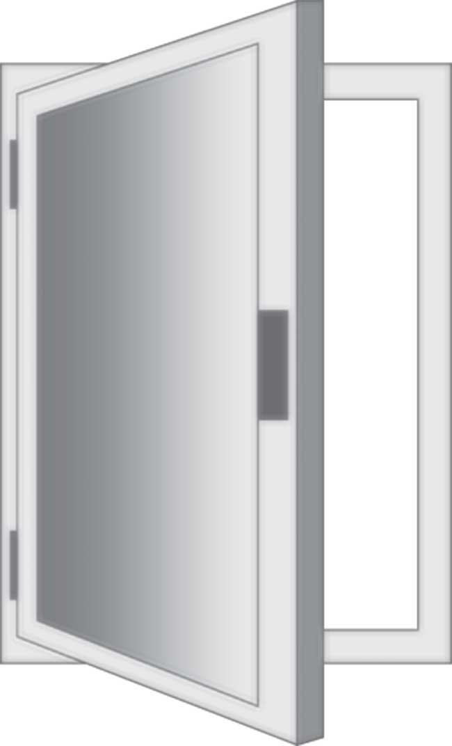 Finestre moderne tipologie sistemi di apertura materiali e prezzi - Finestre apertura esterna ...