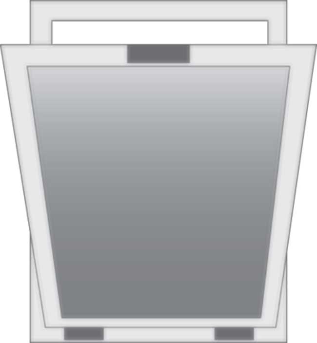 Finestre moderne tipologie sistemi di apertura - Finestra vasistas meccanismo ...