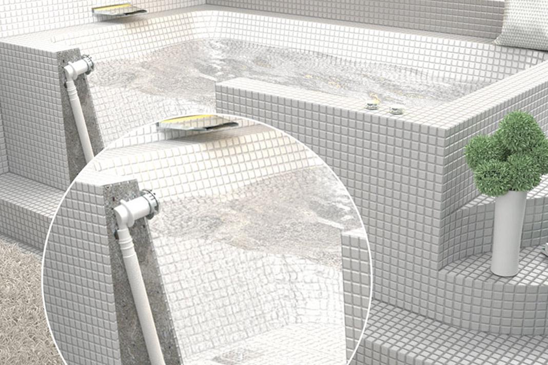 Set per vasche in muratura rifare casa - Vasche da bagno doppie ...